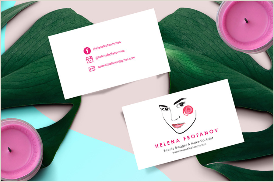Business Card With Social Media Social Media Icons On Business Cards 10 Awesome Examples