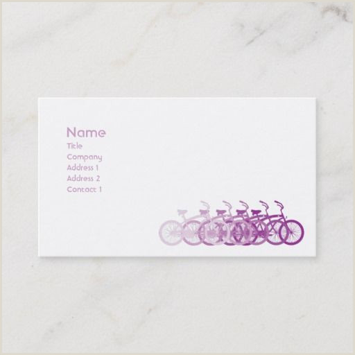Business Card With Two Addresses 200 Best Bicycle Business Cards Images In 2020