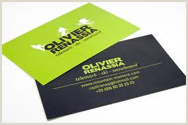 Business Card With Two Addresses Double Address Business Cards Printing At Low Rates