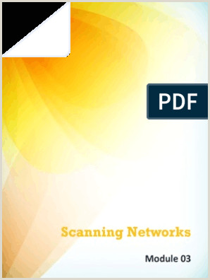 Business Cardd Cehv8 Module 03 Scanning Networks