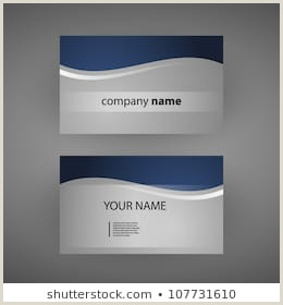 Business Cards Back And Front Front Back Business Card Stock S & Vectors