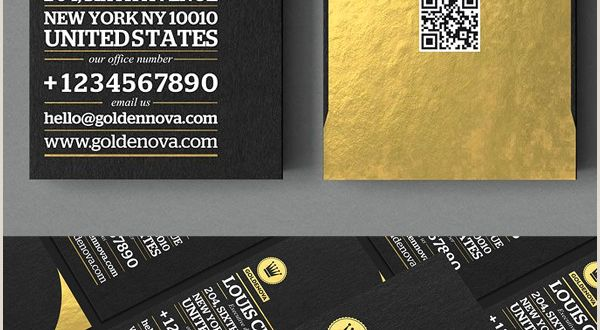 Business Cards Black and Gold Black and Gold Business Card Templates Design