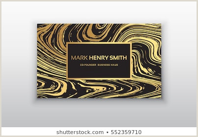Business Cards Black And Gold Business Card Black Gold Stock S & Vectors
