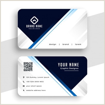 Business Cards Black And Gold Free Vector