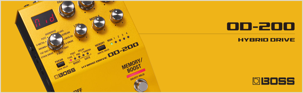 Business Cards Cost Boss Hybrid Drive Guitar Pedal Od 200