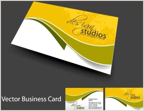 Business Cards Designs Template Business Card Template Free Vector 39 779