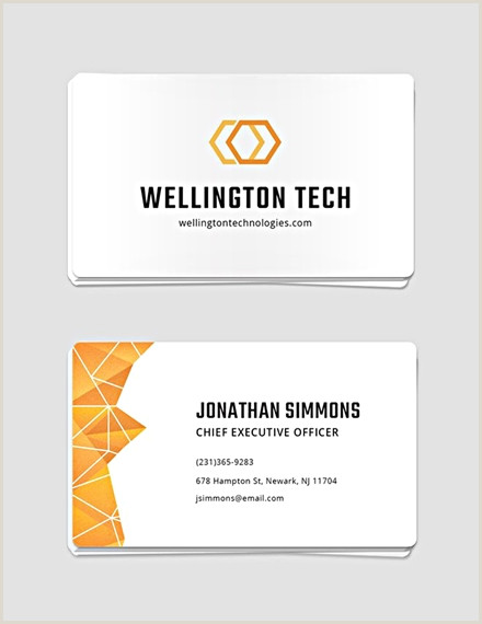 Business Cards Examples Professional 18 Business Card Examples Templates & Design Ideas