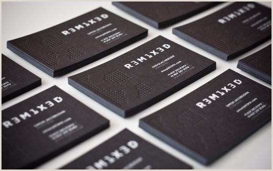 Business Cards Examples Professional 55 Beautiful Business Card Designs