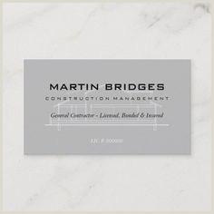 Business Cards For Construction Unique 200 Best Construction Business Cards Images In 2020