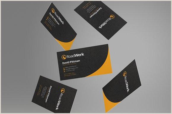 Business Cards For Construction Unique Construction Business Cards