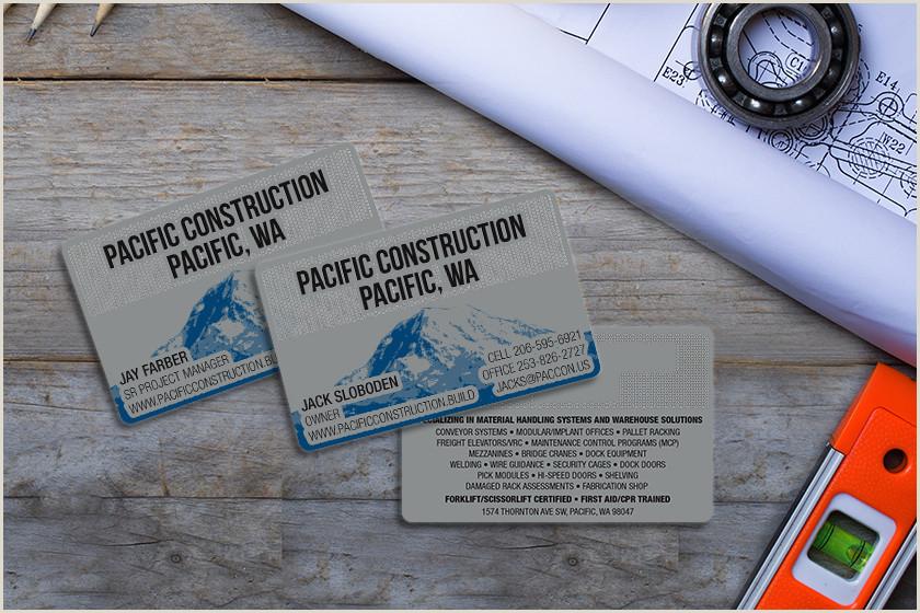 Business Cards For Construction Unique Top 10 Business Card Ideas For Construction Marketing