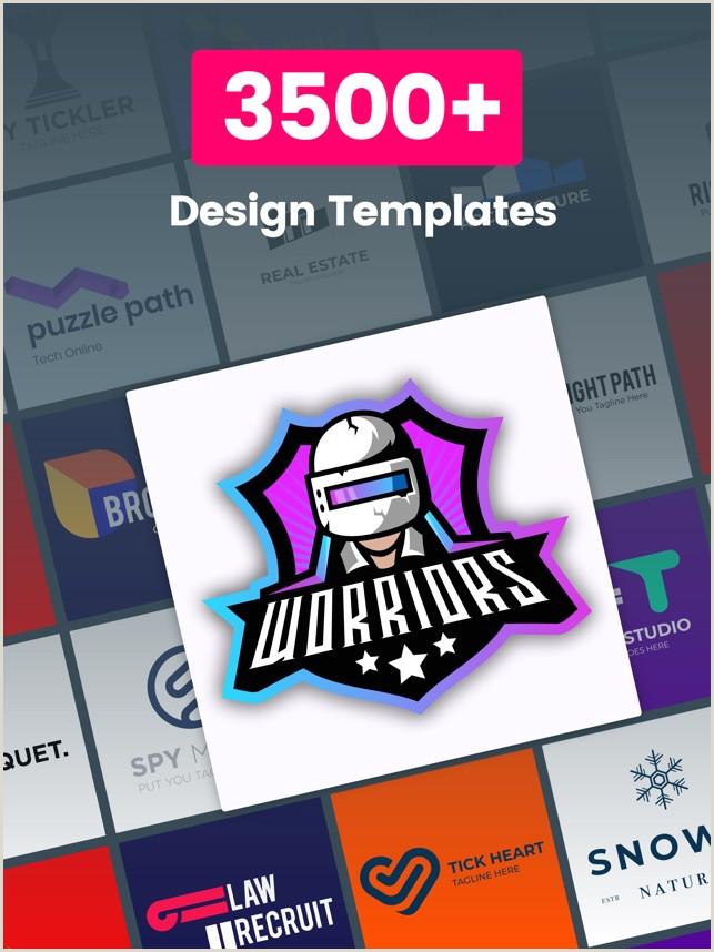 Business Cards For Graphic Designers Logo Maker Design Monogram On The App Store