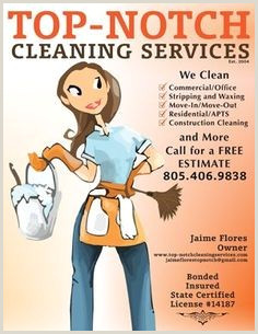 Business Cards For House Cleaning Examples Free Printable Business Flyers Lovely Fresh House Cleaning