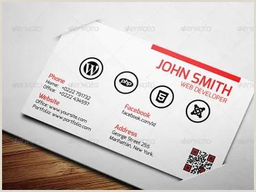 Business Cards For Web Developers 25 Web Developer Business Card Psd Templates
