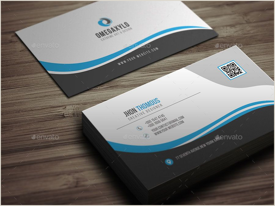 Business Cards For Web Developers Business Card Bundle 2 In 1