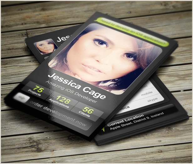 Business Cards For Web Developers Software Engineer Web & Mobile Developer Business Card
