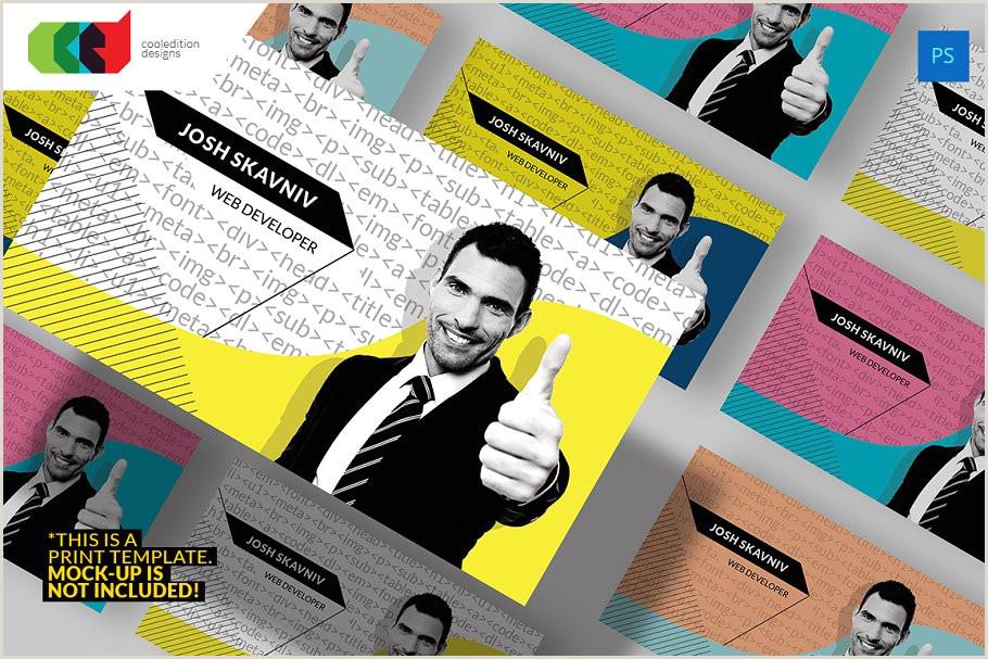 Business Cards For Web Developers Web Developer Business Card 71