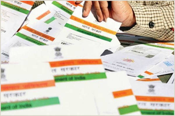 Business Cards India 125 Crore Aadhaar Cards Issued Till Now Govt We For News