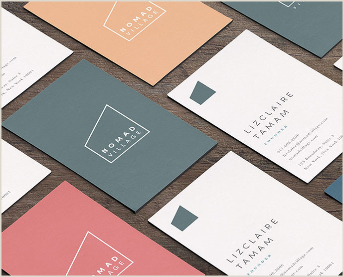 Business Cards Shaped Like A House 41 Cool Architecture & Real Estate Business Card Designs