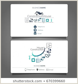 Business Cards Shaped Like A House Business Card House Stock S & Vectors