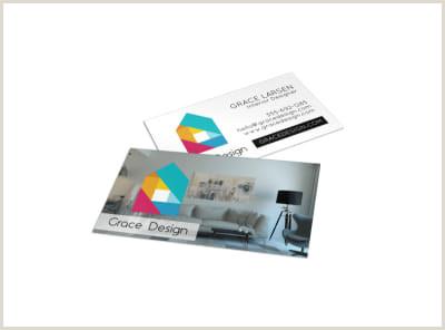 Business Cards Shaped Like A House House & Home Business Card Templates