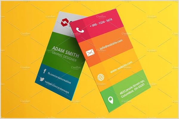 Business Cards Social Media Social Media Business Card Template 39 Free & Premium