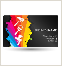 Business Cards Unique Renovation Business Cards Renovations Vector Over 260