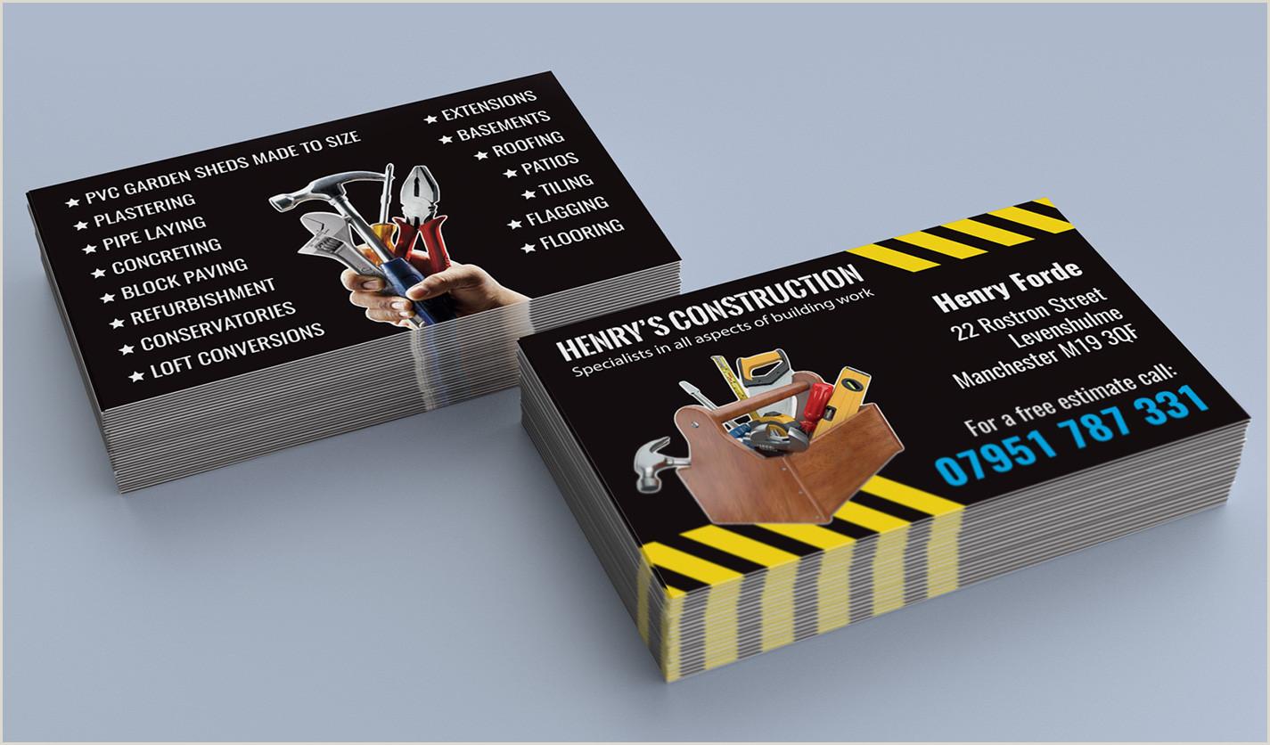 Business Cards Unique Renovation Construction Top 28 Examples Of Unique Construction Business Cards