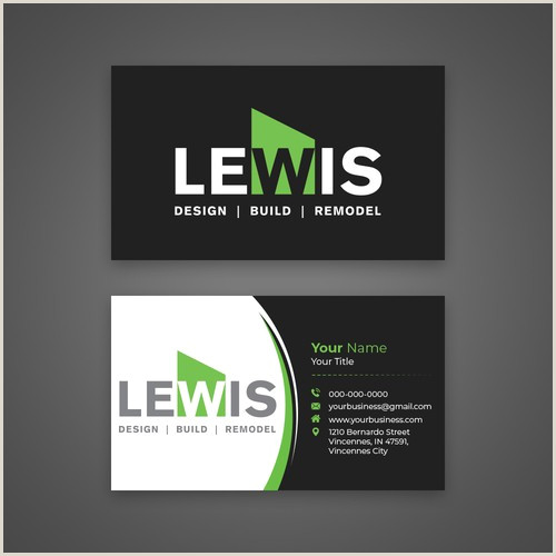 Business Cards Unique Renovation Jeremy Golob Create An Eye Catching Innovative High End Remodeling