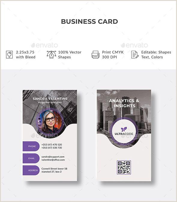 Business Cards Unique Shapes Business Card