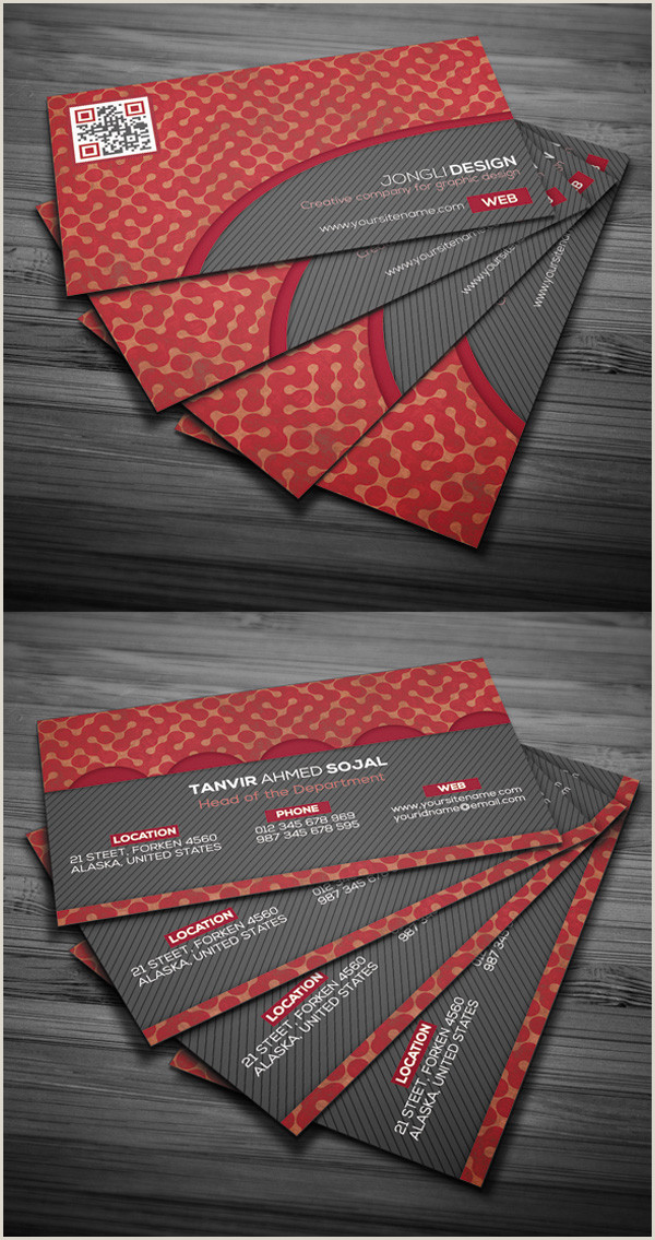 Business Cards Unique Style 25 Free Business Cards Psd Templates And Mockup Designs