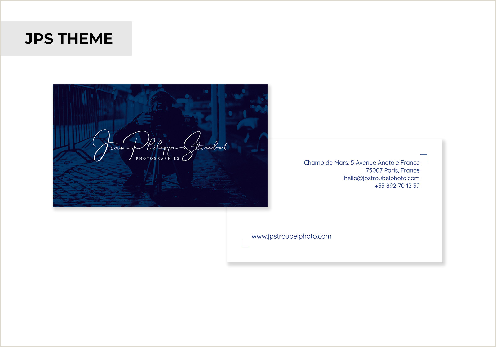 Business Cards With Photo And Logo Business Cards