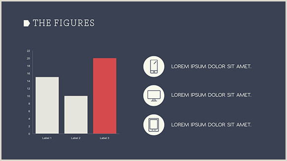 Business Cards With Social Media Social Media Report Presentation Template