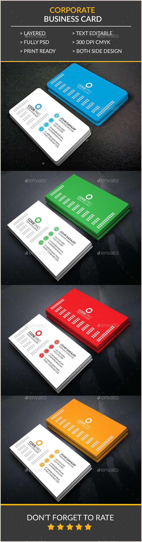 Business Cards Without Address Construction Business Card