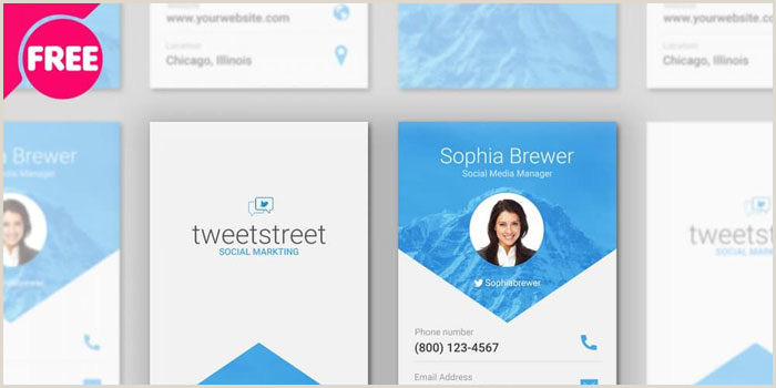 Business Cards Without Address Free Business Card Templates You Can Today