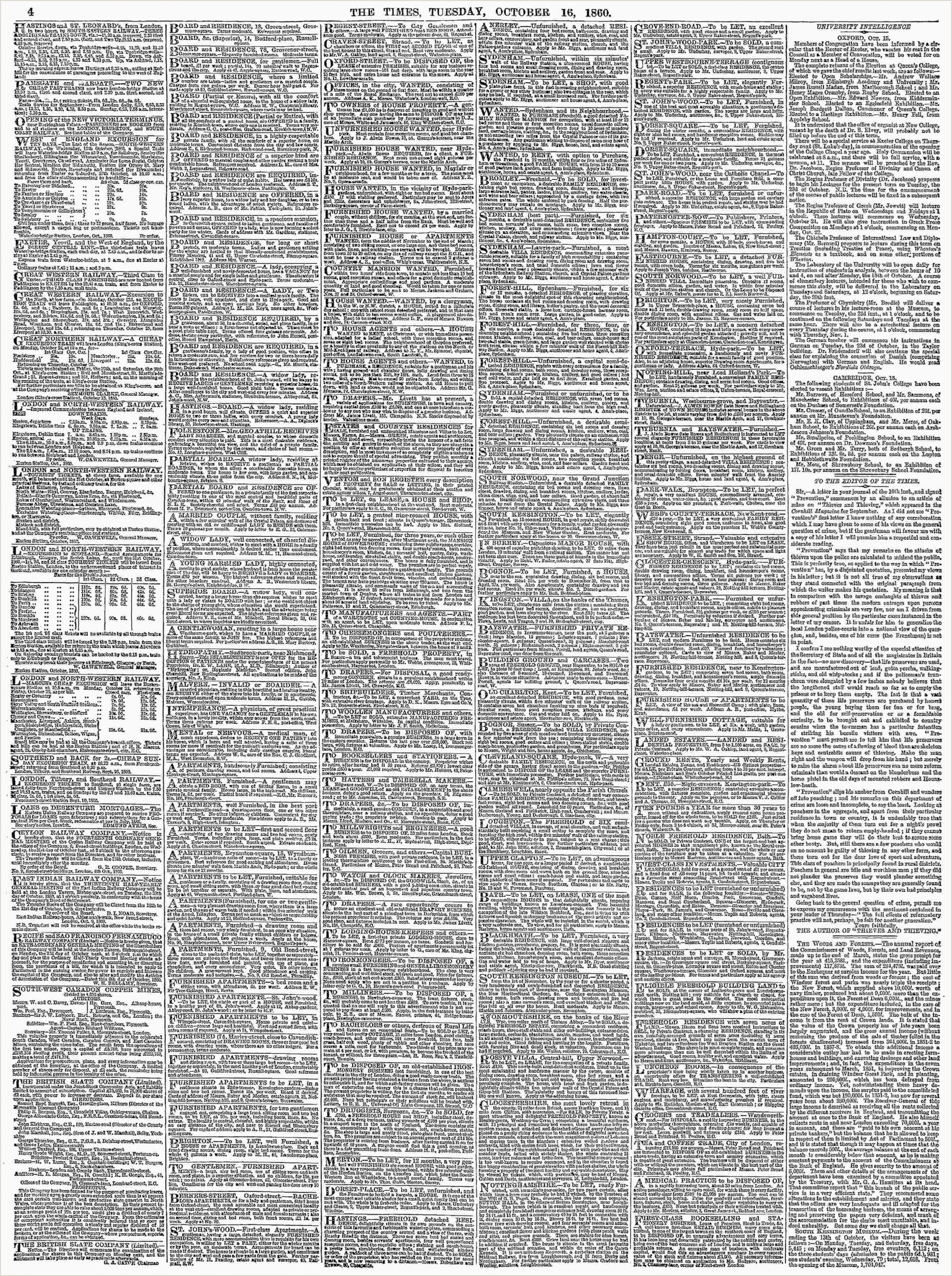 Business Crds Archive Page Viewer October 16 1860