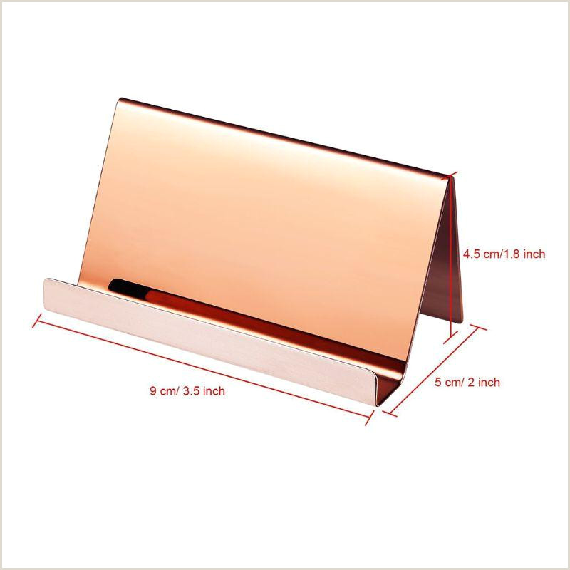 Business Name On Card 2020 High End Stainless Steel Business Name Card Holder