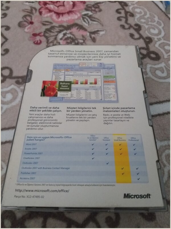 Businesss Cards Microsoft Office Small Business 2007 Full
