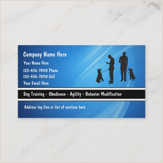 Businnes Cards Dog Training Business Names Cat And Dog Lovers