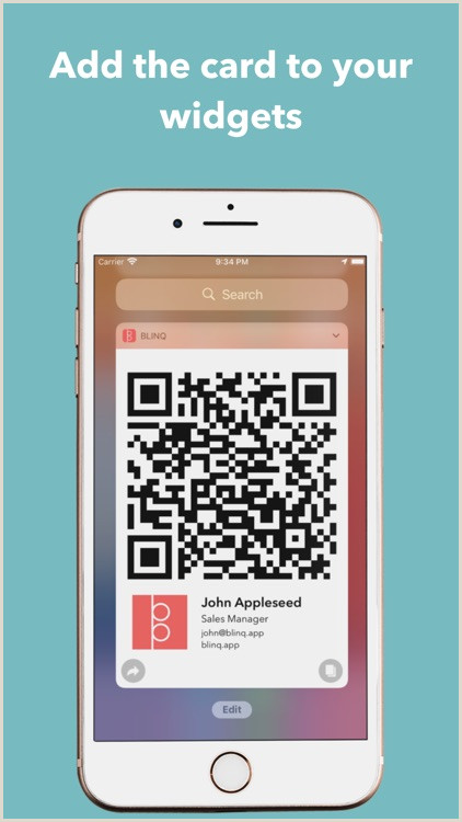 Bussniess Cards Blinq Digital Business Cards By Rabbl Pty Ltd