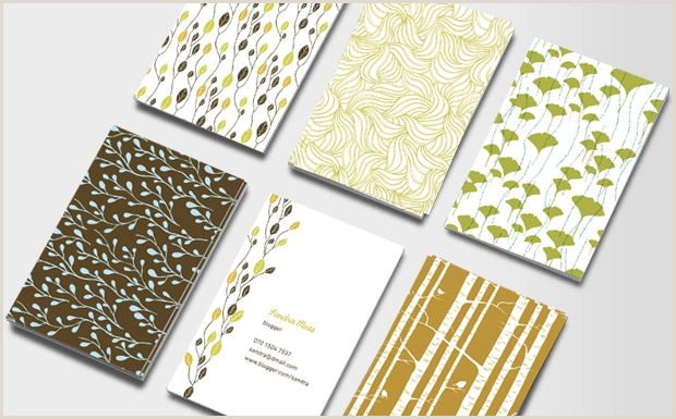 Buy Business Cards Online Business Cards Nature Patterns