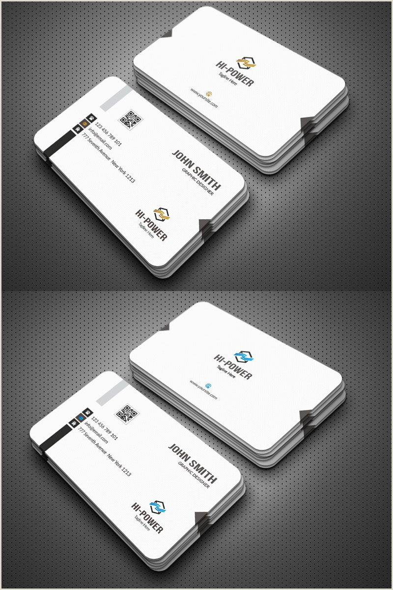 Buy Power Business Card John Smith Simple Business Card Corporate Identity Template