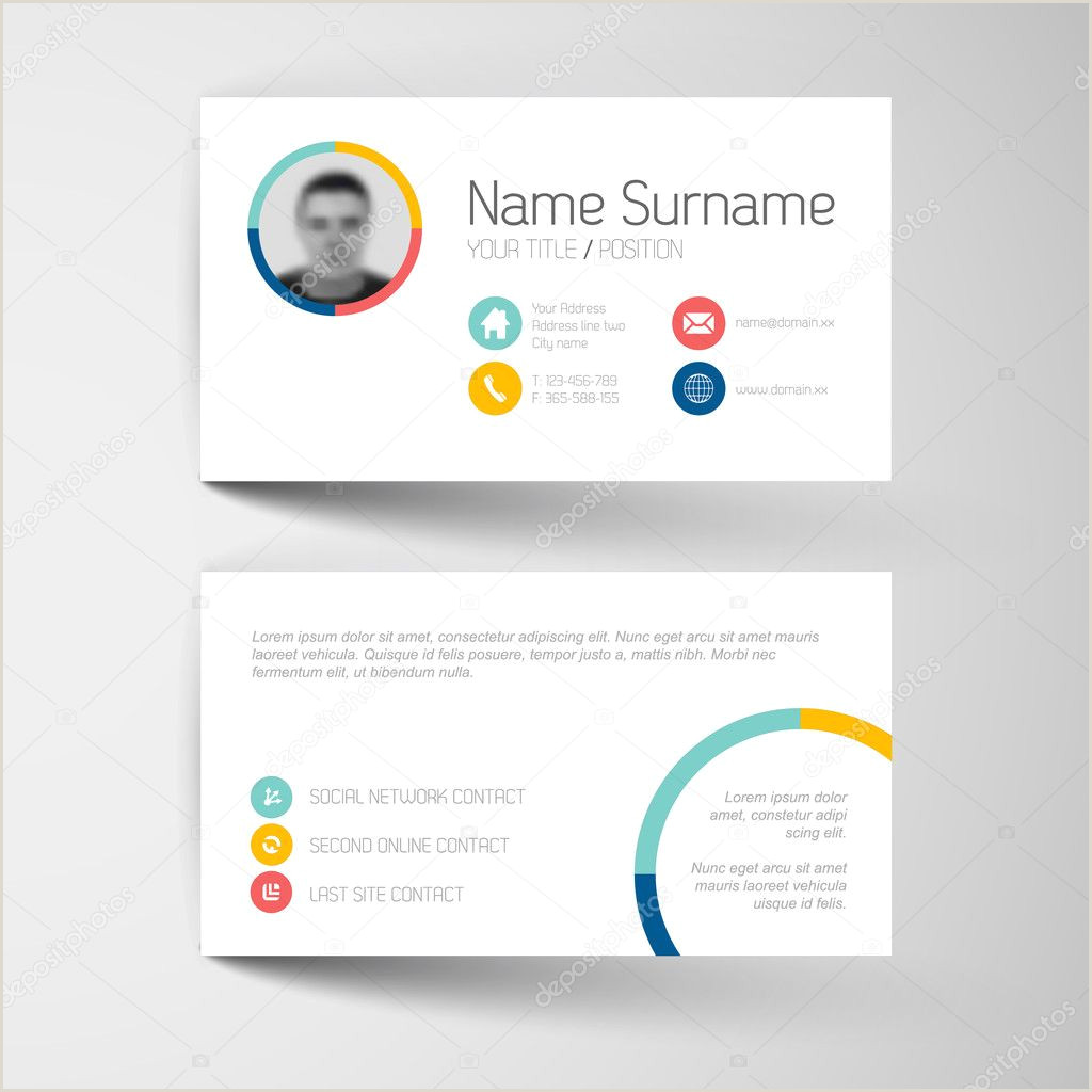 Call Cards Templates ᐈ Calling Card Sample Design Stock Images Royalty Free