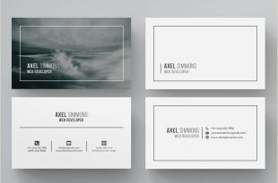 Calling Card Templates Business Card Word Business Card Template Business Card
