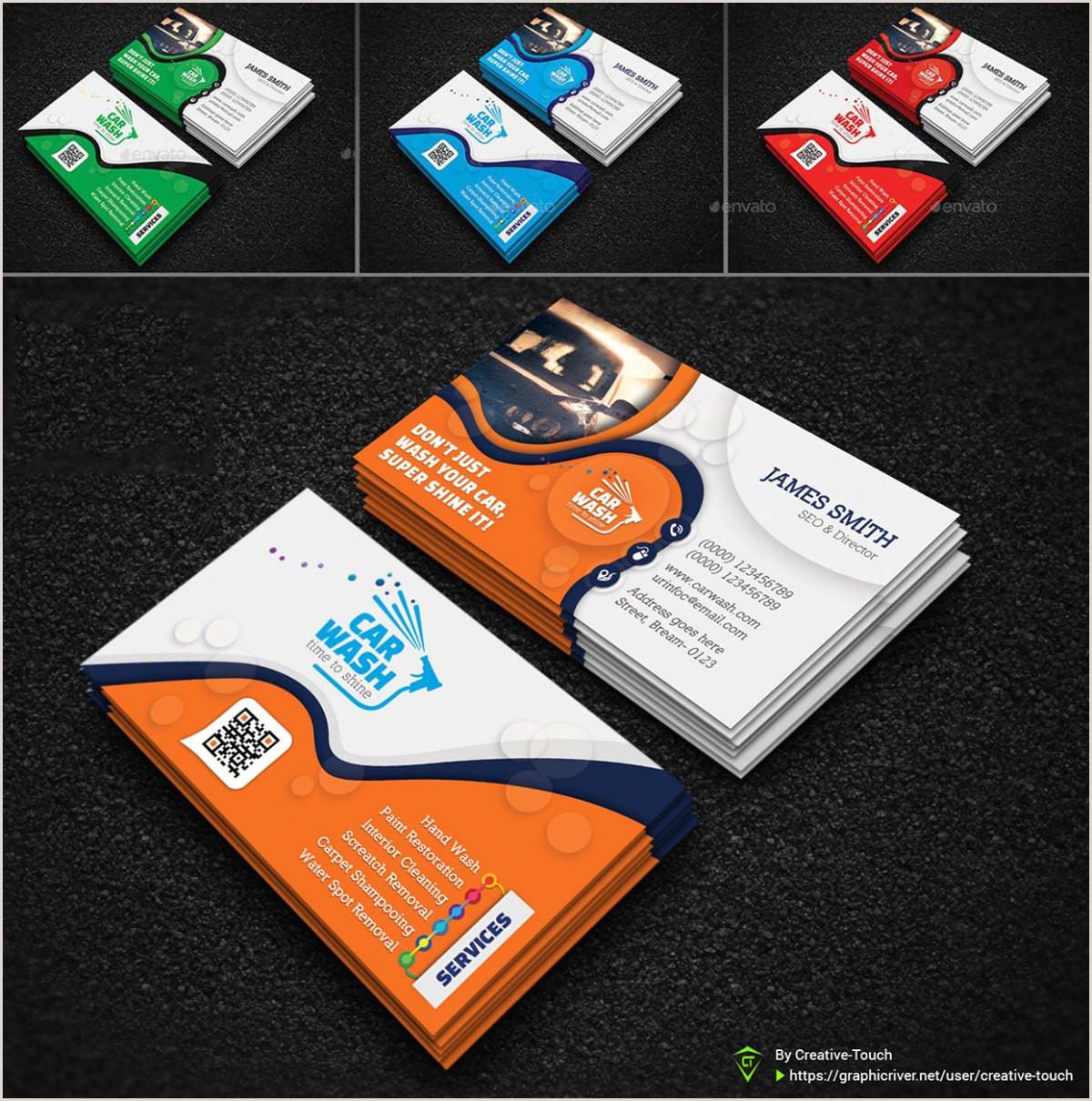 Car Wash Best Business Cards 10 Best Editable Car Wash Business Card Templates 2020