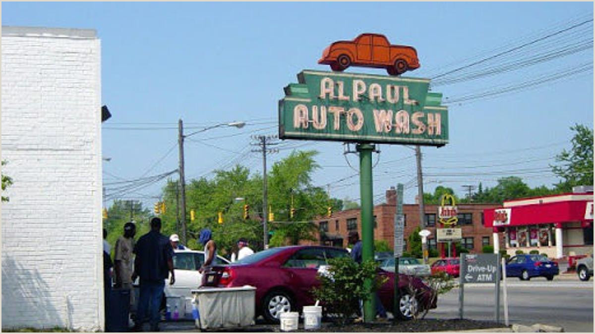 Car Wash Best Business Cards Al Paul Auto Wash Owner Reflects On Decades Of Business