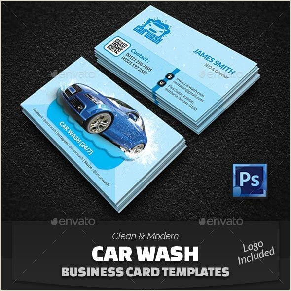 Car Wash Best Business Cards Car Wash Business Card Graphics Designs & Templates