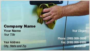 Car Wash Best Business Cards Car Wash Business Cards