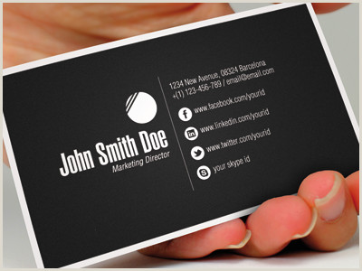 Card Examples 15 Sleek Examples Of Black Business Cards