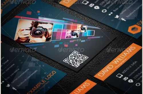 Card Examples Best Graphy Business Card Templates Example